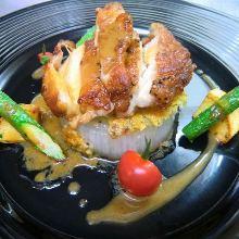 Grilled citron pepper chicken