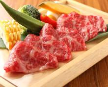 Wagyu beef toban-yaki