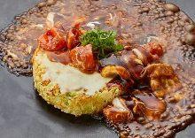 Tomato okonomiyaki