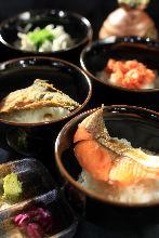 Ochazuke with dashi soup