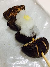 Grilled Shiitake Skewers
