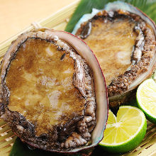 Grilled dancing abalone