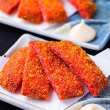 Akaten (deep-fried spicy fish cake)