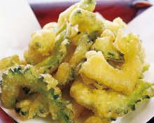 Bitter melon tempura