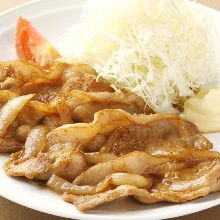 Fried Pork with Ginger
