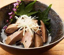 Simmered chicken liver