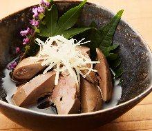 Simmered chicken liver