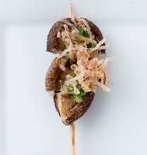 Grilled Shiitake Skewers