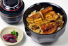 Unadon (grilled eel on rice) - Deluxe (one whole and 3/4 eel)
