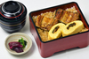 Eel Rolls and Grilled Eel in Lacquered Box