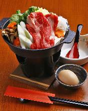 Beef sukiyaki