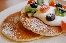 Rice flour pancake