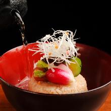 Okayu (rice porridge)