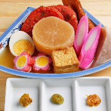 Assorted oden, 5 kinds