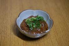 Ground meat miso