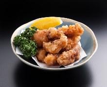 Octopus tempura