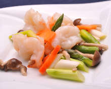 Stir-fried Seafood