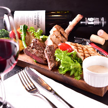 Assorted grilled meat, 3 kinds