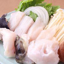 Premium boiled pufferfish