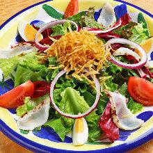Pufferfish salad