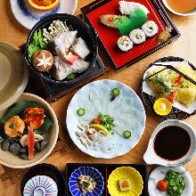 5,400 JPY Course (8 Items)