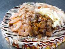Other okonomiyaki / flour-based dishes