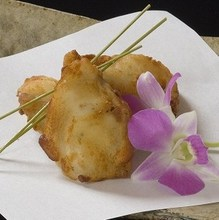Fried pufferfish