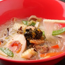 Stir-fried gomoku vegetables