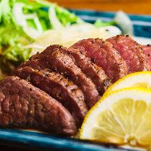 Skirt steak teppanyaki