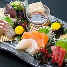 Assorted sashimi, 5 kinds