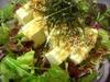 Japanese-Style Salad with Tofu & Crispy Small Fish