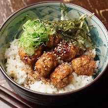 Meatball rice bowl