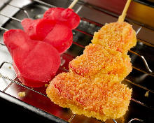 Fried skewer / Cutlet skewer