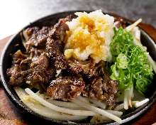 Wagyu beef tendon with ponzu