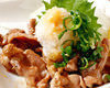 Chicken skirt steak with ponzu
