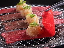 Daikon Oroshi (grated radish) Grill
