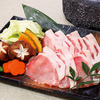 Grilled Black Pork & Kyoto Vegetables Yogan-Yaki