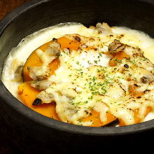 Stone grilled rice doria