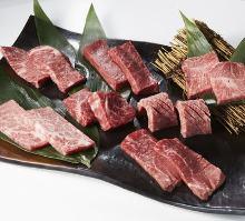 Assorted wagyu beef, 7 kinds