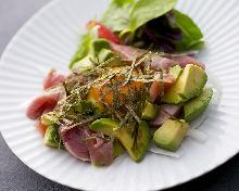 Skipjack tuna tartare