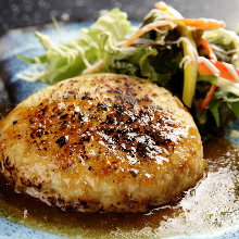 Tofu hamburger steak