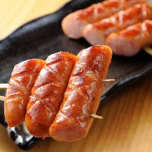 Sausage skewer