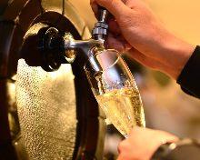 Fresh Sparkling wine