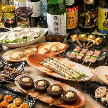 6,000 JPY Course (18 Items)