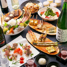 7,000 JPY Course (18 Items)