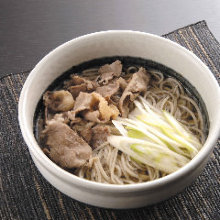 Wheat noodles with meat