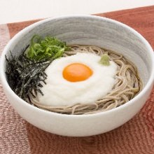 Udon with grated yam