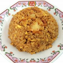 Fried rice with kimchi