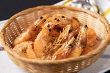 Fried shiba shrimp