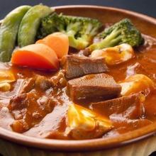 Ox tongue stew
